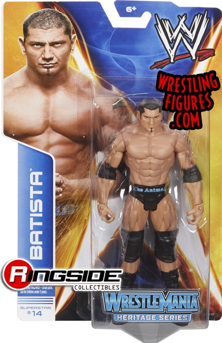 Batista is in Mattel WWE Series 37!
