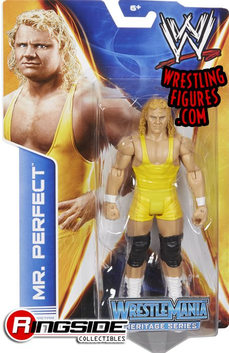 Mattel WWE Mr. Perfect Curt Hennig!