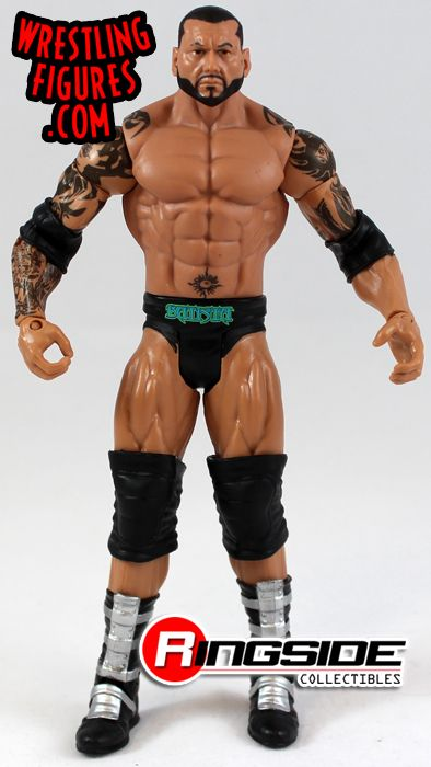 Batista from the Mattel WWE WrestleMania XXX Battle Packs!
