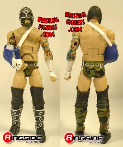 Mattel WWE Straight Edge Society CM Punk Exclusive!