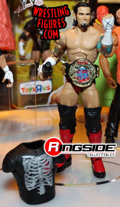 Mattel WWE Ringside Collectibles ECW CM Punk Exclusive!