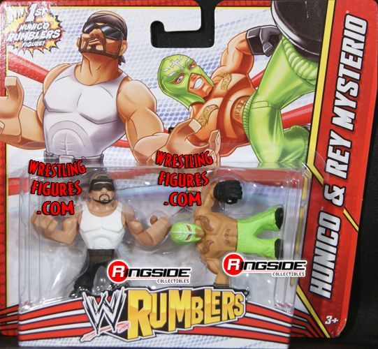 Mattel WWE Rumblers Hunico & Rey Mysterio!