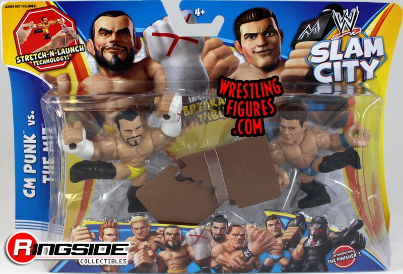Mattel WWE Slam City CM Punk & The Miz!