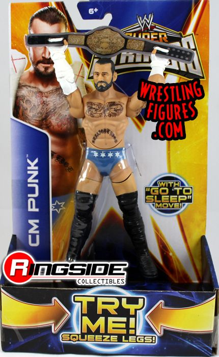 Mattel WWE Super Strikers CM Punk!