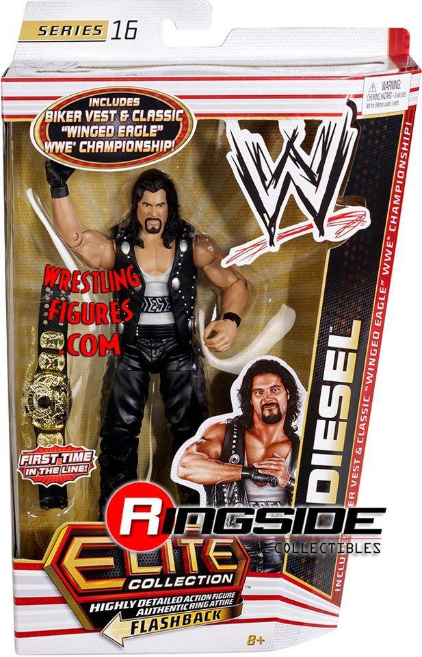 Mattel WWE Elite 16 Diesel!