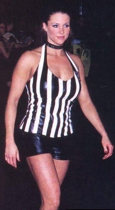 Mattel WWE Stephanie McMahon Figure in Referee Attire!