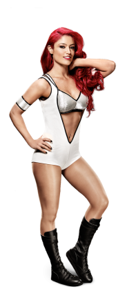 Mattel WWE Eva Marie Figure In White Wrestling Attire!