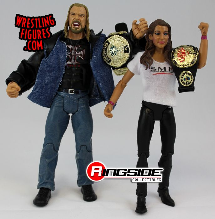Jakks WWE Stephanie McMahon-Helmsley and Triple H - McMahon-Helmsley Era 2-Pack!