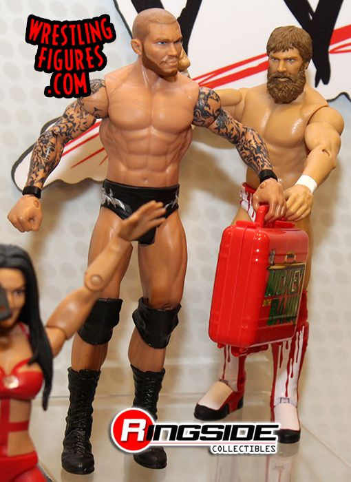 Elimination Chamber Participants Randy Orton and Daniel Bryan in Mattel WWE Battle Packs 27!