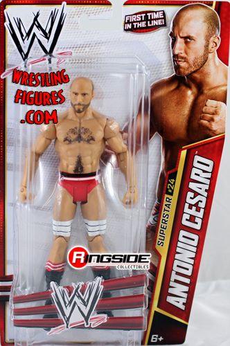 Elimination Chamber Participant Antonio Cesaro in Mattel WWE Series 27!