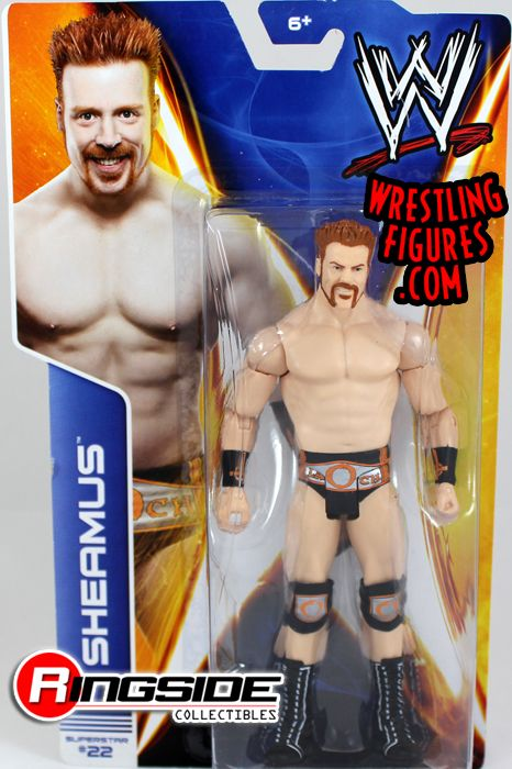 Mattel WWE Series 38 Sheamus!