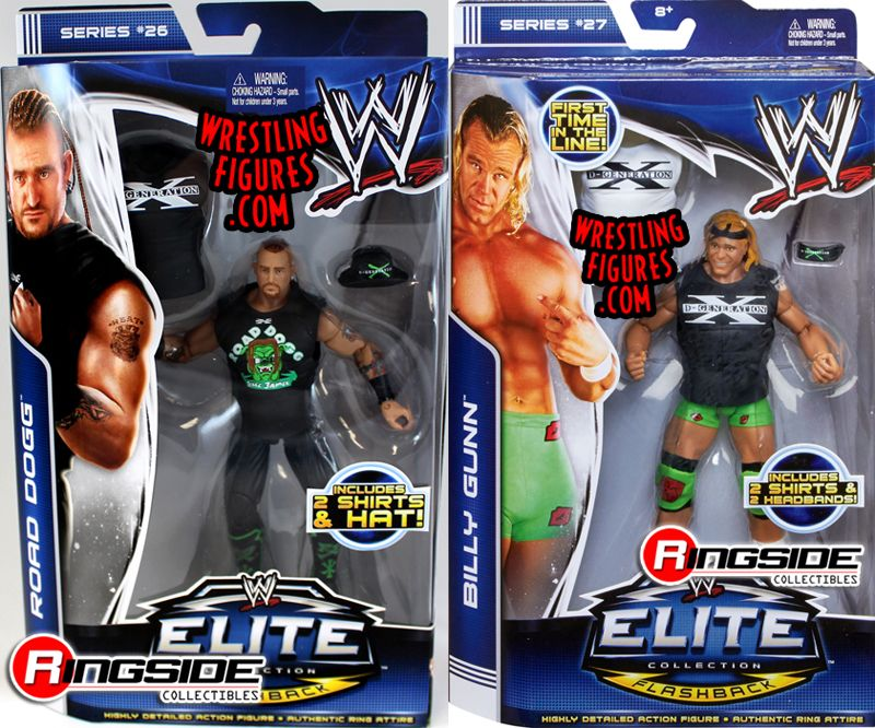 Mattel WWE New Age Outlaws Package Deal!