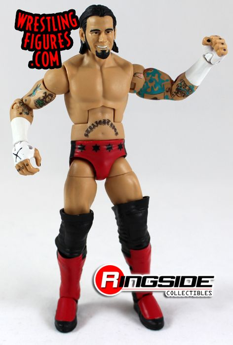 Mattel WWE ECW CM Punk Exclusive Wrestling Figure!
