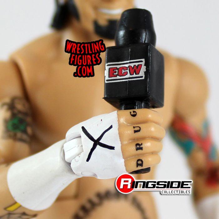 Mattel WWE ECW CM Punk Exclusive ECW Microphone Accessory!