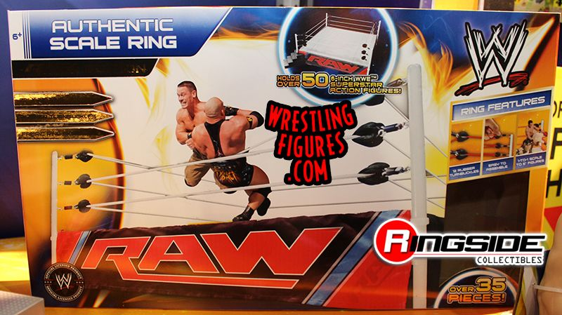 The WWE Authentic Scale Ring Packaging by Wicked Cool Toys!