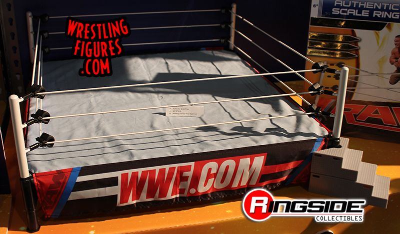 Wicked Cool Toys WWE Authentic Scale Ring!