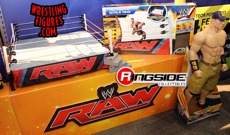 Wicked Cool Toys WWE Authentic Scale Ring Playset and Packaging!