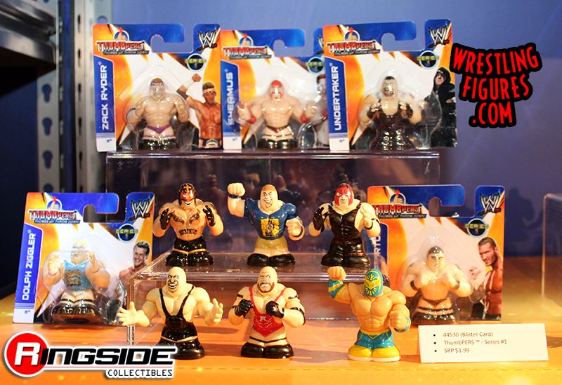 WWE Thumbpers by Wicked Cool Toys on Display!