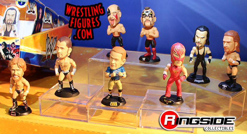 WWE Superstar Bobble Heads by Wicked Cool Toys!