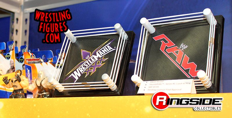 WWE Thumbpers Ring Playsets by Wicked Cool Toys!