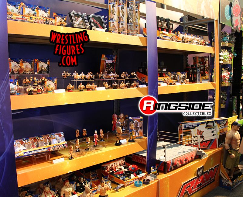 The WWE Display from Wicked Cool Toys!