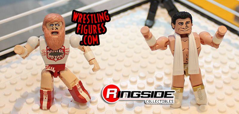 WWE Stackdown Daniel Bryan & Alberto Del Rio from Bridge Direct!