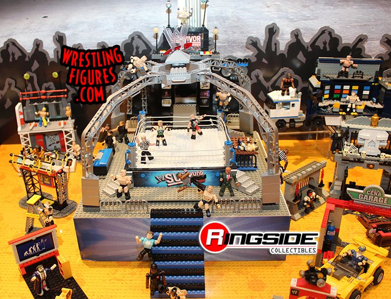 WWE Stackdown Survivor Series Playset by Bridge Direct!