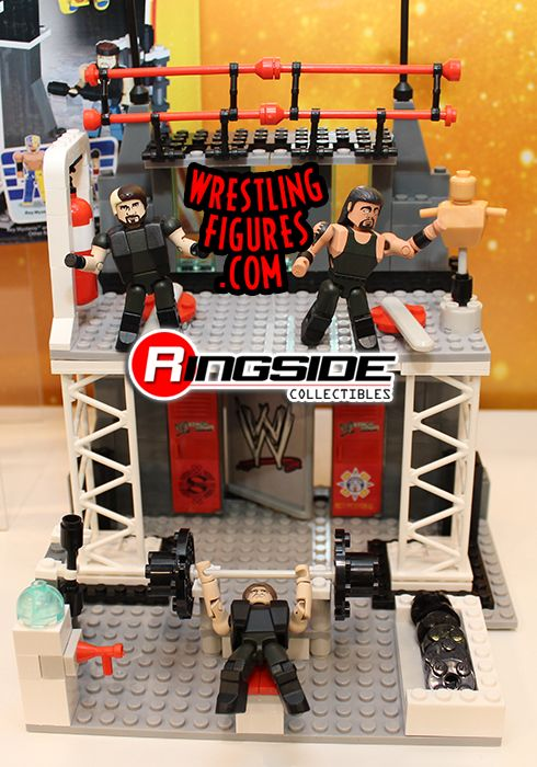 WWE Stackdown Playset by Bridge Direct featuring The Shield!