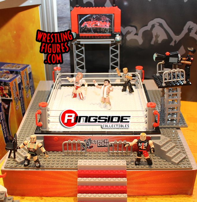 WWE Stackdown RAW Ring Playset by Bridge Direct!