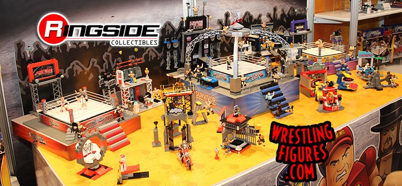 WWE Stackdown Display By Bridge Direct!