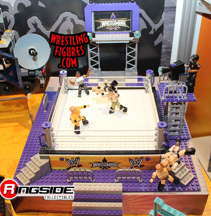 WWE WrestleMania XXX Stackdown Playset by Bridge Direct!