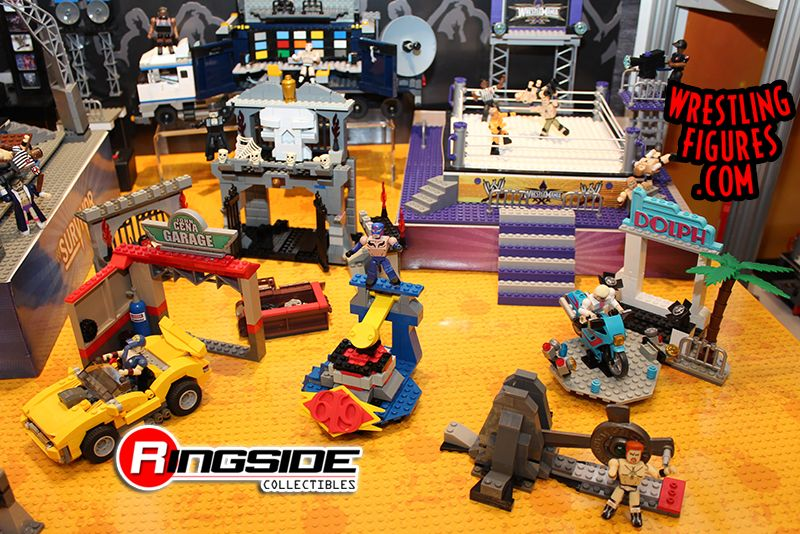 Bridge Direct WWE Stackdown Superstars and Playsets!