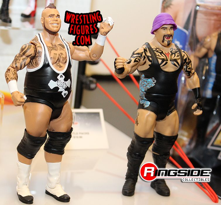 Mattel WWE Battle Packs 27 Brodus Clay and Tensai, Tons of Funk!