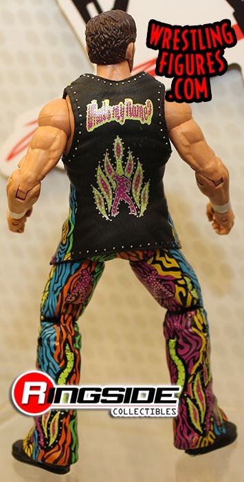 Mattel WWE Elite 27 Fandango on Display at Toy Fair 2014!