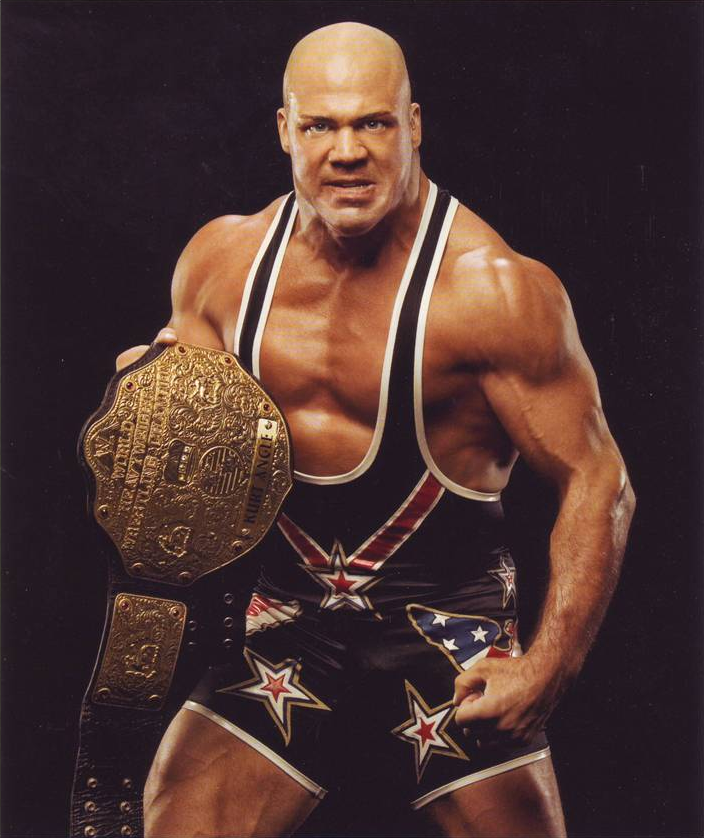 Undisputed and World Heavyweight Champion Mattel WWE Kurt Angle!