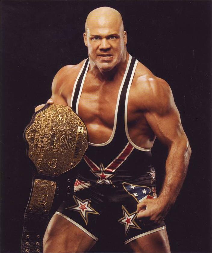 Undisputed and World Heavyweight Champion Mattel WWE Kurt Angle!