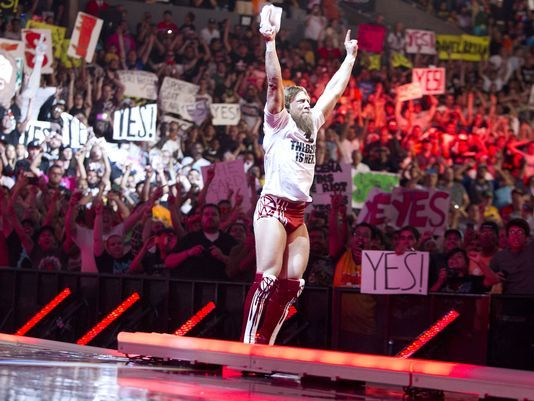 Mattel WWE Elite 28 Daniel Bryan...with The Beard Is Here shirt!