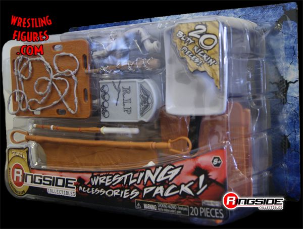 Ringside Collectibles Exclusive 20 Piece Accessory Pack!