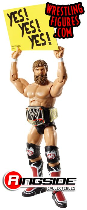 Mattel WWE Elite 28 Daniel Bryan Wrestling Figure!