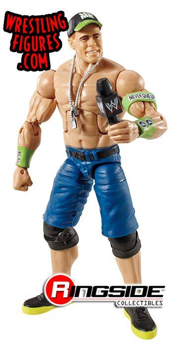 Mattel WWE Elite 28 John Cena Wrestling Figure!