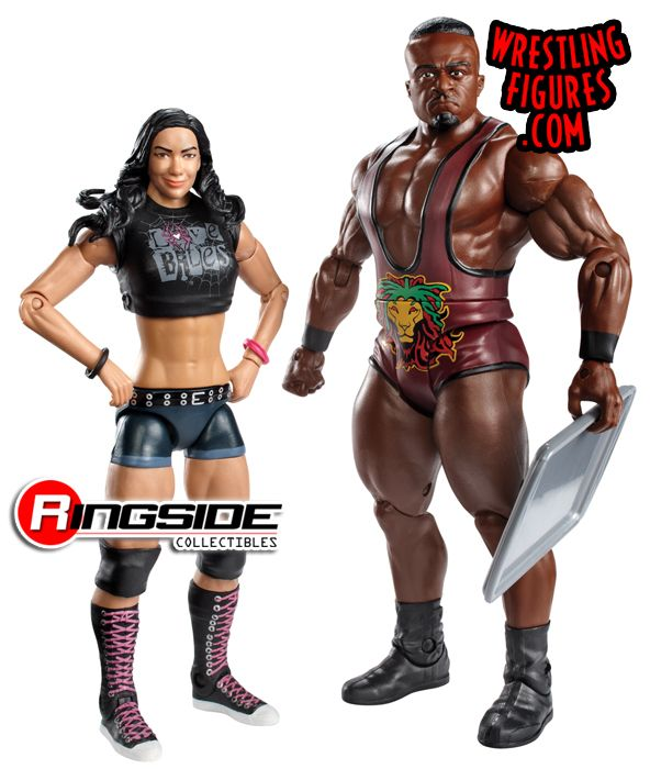 Mattel WWE Battle Packs 28 AJ Lee & Big E!