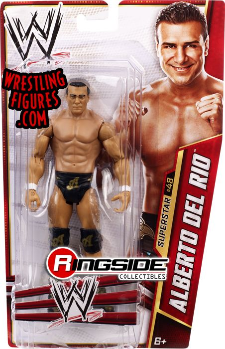 Mattel WWE Series 31 Alberto Del Rio!