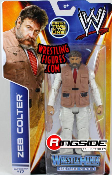 Mattel WWE Series 37 Zeb Colter!