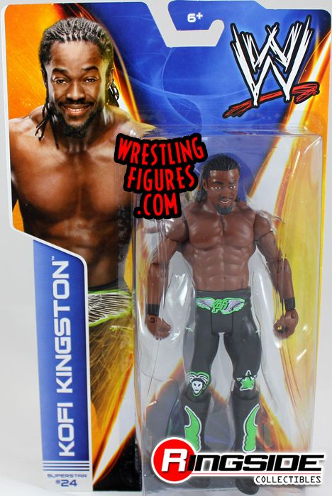 Mattel WWE Series 38 Kofi Kingston!