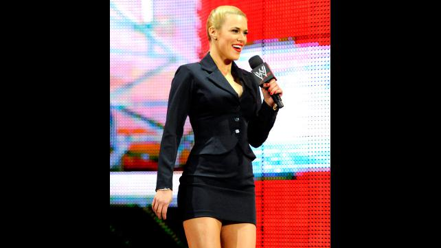 Mattel WWE Lana wrestling figure!