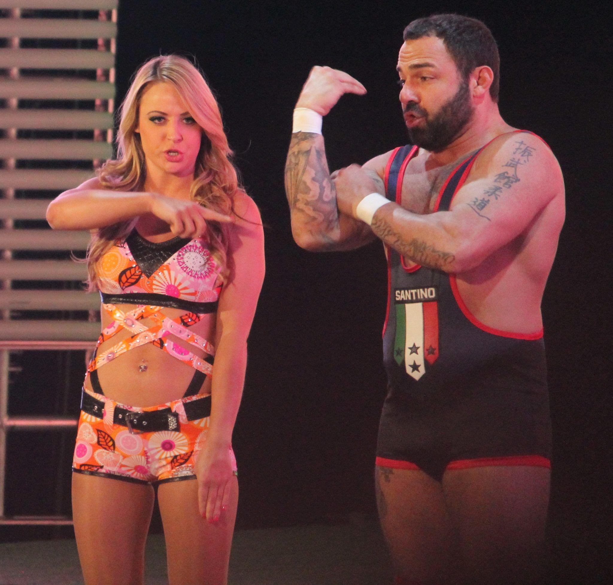 A Mattel WWE Emma & Santino Marella Battle Pack!