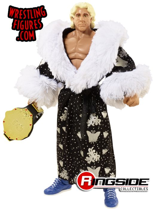 Mattel WWE Defining Moments Ric Flair wrestling action figure!