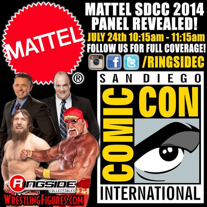 The Mattel WWE San Diego Comic-Con 2014 Panel!