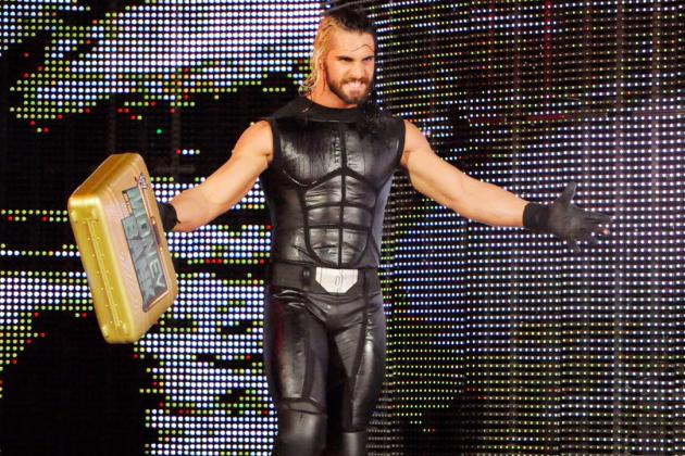 Seth Rollins flaunts his Money in the Bank Briefcase!