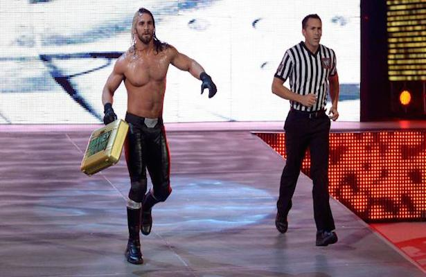 Seth Rollins looks to cash in his Money in the Bank Briefcase!